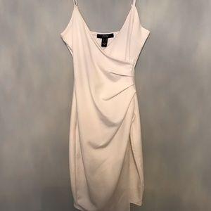 White High Slit Dress